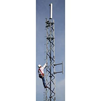 Trylon - 5.94.H700.060 - Knocked-down 60' H700 SuperTITAN Self-Supporting Tower (Sections 7-12HD) c/w 5' Foundation Kit