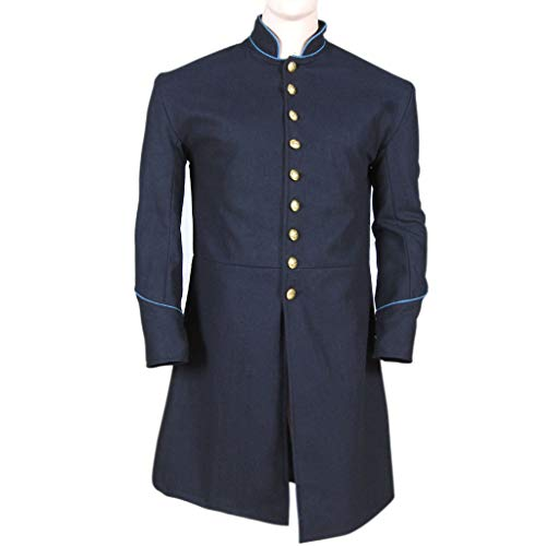 - Civil war Union Enlisted Federal Infantry Single Breasted Frock Coat (34) Blue