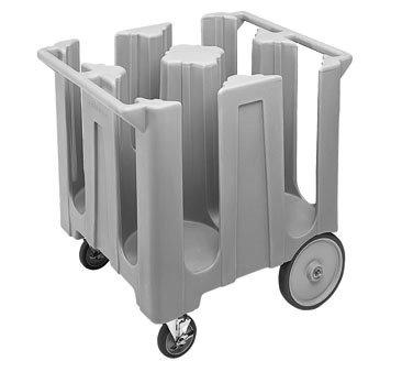 """Cambro  12-1/4"""" Polyethylene Dish Cart"""