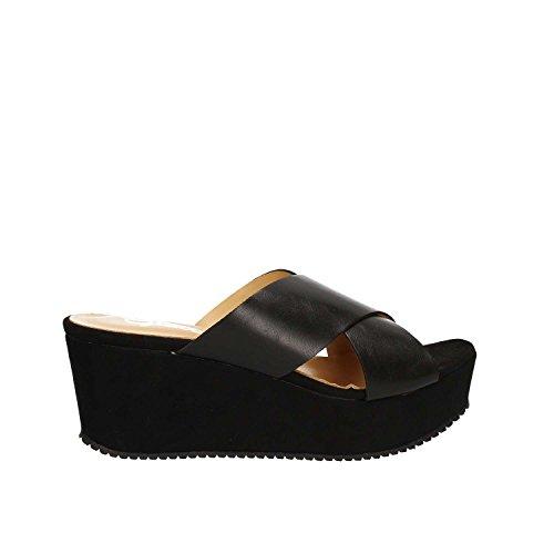 Grace Shoes 9833 Sandalias Altos Mujeres Negro
