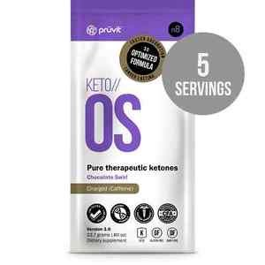 Keto // OS 3.0 CHOCOLATE SWIRL by Pruvit - 5 On-the-GO Packets! - V3.0 Optimized Formula! 5 CHARGED/CHOC