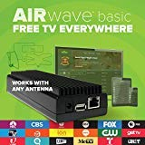 Price comparison product image Mohu AirWave HDTV Streaming Media Player, Premium Edition with Outdoor TV Antenna for Free TV, Programming Guide, Mohu TV app for Roku, AppleTV, Amazon Fire, MH-110088 (70 Mile)