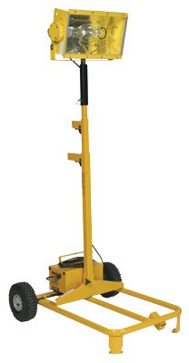 Bull Dog Power Products BD1000MH 1000-Watt Single Metal Halide Portable Light Cart