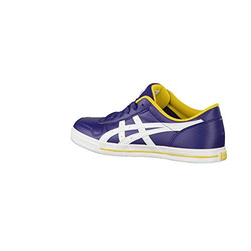 Asics Aaron - Zapatillas de tiempo libre y sportwear para hombre, color azul, talla 43.5