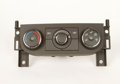 ACDelco 15-73661 GM Original Equipment Ebony Heating and Air Conditioning Control with Rear Window Defogger Switch