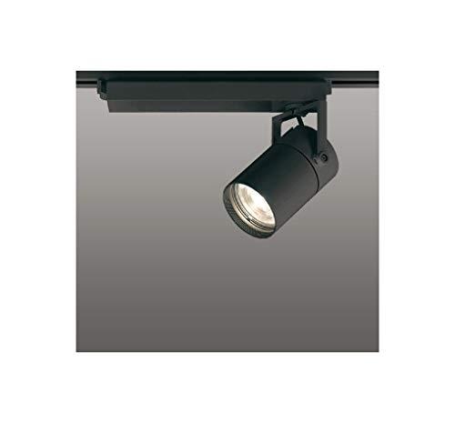 ODELIC LEDスポットライト 配線ダクトレール用 CDM-T70W相当 ブラック 23° 電球色 3000K 専用調光リモコン対応(リモコン別売) XS511112BC   B07RW7JBG6