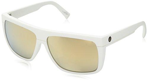 Electric Visual Black Top Matte White/OHM Grey Gold Chrome Sunglasses