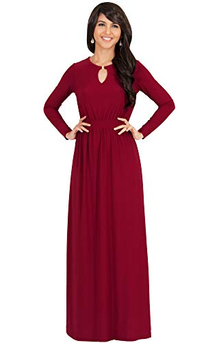 KOH KOH Sleeve Modest Flowy Summer Sexy Gown Cocktail