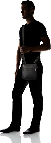 Armani - Bolso al hombro para hombre negro negro
