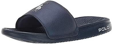 POLO RALPH LAUREN Men's RODWELL Slide Sandal Blue 7 D US