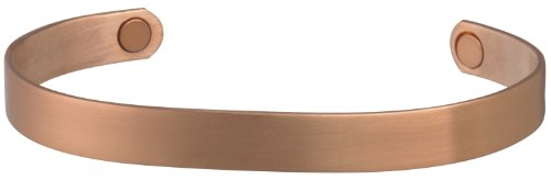 Sabona Bracelet Sports - Sabona Brushed Copper Original Magnetic Bracelet, Large