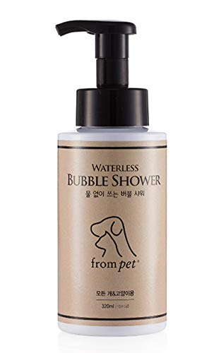 Frompet Bubble Shower - Waterless Shampoo No Rinse for Dog and Cat - - Bubble Rinse