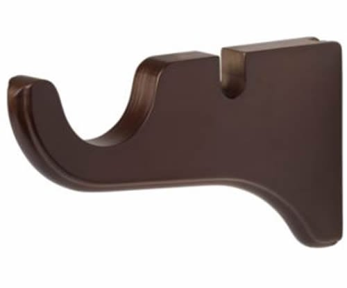 Kirsch Wood Trends Classics Double Bracket for 1 3/8
