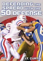 J. T. Curtis: Defending the Spread with the 50 Defense (DVD) (Football 50 Defense)