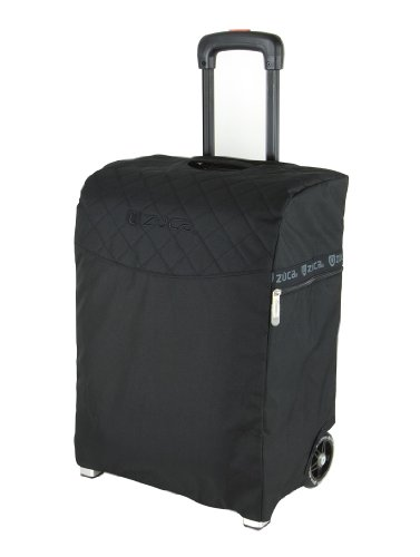 Zuca Flyer Artist Silver Frame with a Black Insert Bag, 5 Clear Vinyl Utility Pouches, and Matching Travel Cover - the Zuca Ultimate by ZUCA (Image #4)