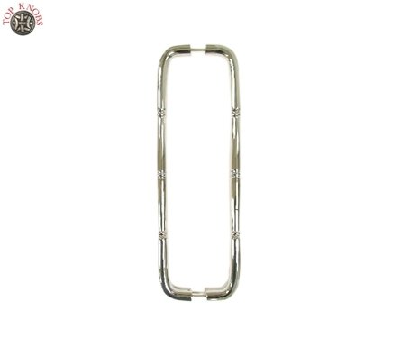 Top Knobs Nouveau Ring Back to Back Door Pull 18