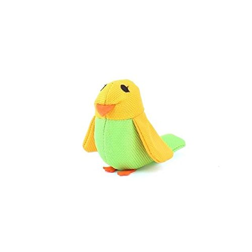 BecoThings Bertie the Budgie Plush Toy for Cats (PACK OF 6)