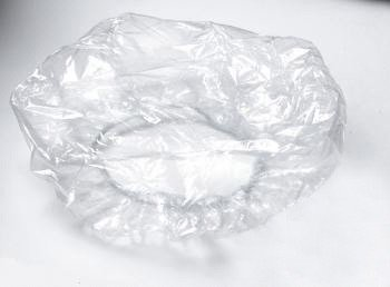 Disposable Clear Plastic Shower Cap 1000 Pieces by BH Medwear