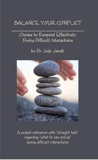 Balance Your Conflict