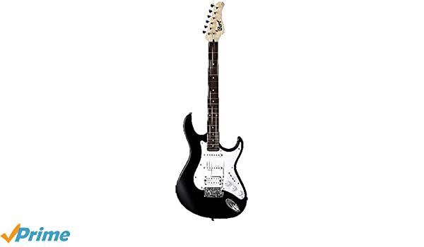 Cort G110 de la guitarra eléctrica Negro Brillante: Amazon.es: Instrumentos musicales