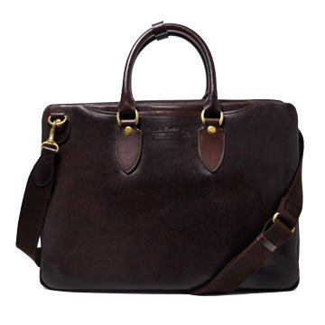 (アオキカバン)青木鞄 ブリーフケース 4192 チョコ B00O7Q1YSK