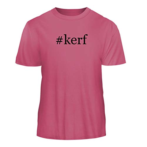 Tracy Gifts #kerf - Hashtag Nice Men's Short Sleeve T-Shirt, Pink, Medium