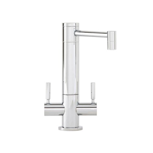 Waterstone 1900HC-SN Hunley Filtration Faucet Hot and Cold Double Handle, Satin Nickel