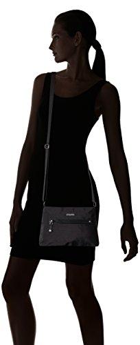 Black Tracolla Cerniera Baggallinimac250 Lining With Attorno Donna Sand xPBWq1Iw