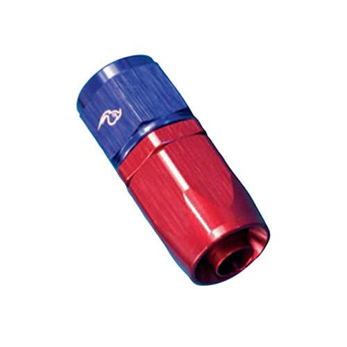 Roadrunner Performance AN12-12FJRB Full Flow Swivel Hose Fitting 12 Red//Blue Straight