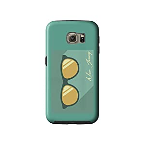 New Jersey - Sunglasses (Blue) (Galaxy S6 Cell Phone Case, Tough)