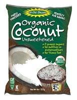 LETS DO ORGANICS COCONUT SHRED LITE, 8.8 OZ by Lets Do Organics (Image #1)