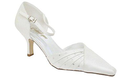 CRINOLIGNE Enora All Ivory Wedding Wife Shoe Engagement ceremony Wedding Ceremonies xqTwOU