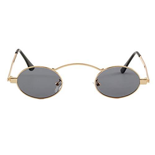 Gold Petit Rondes Gray De Lentille Lunettes En Hommes Soleil Shades Providethebest Unisexe Cercle Lens Résine Metal Frame Femmes Vacances 8wan5IqSx