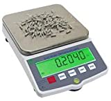 Nevada Weighing Tree HRB 20001 Precision Counting and Ammo Reload Scale Balance - Rechargeable! 20,000 g / 308646 Grains x 0.1 gram / 1 Grain - With 2 Year Warranty!