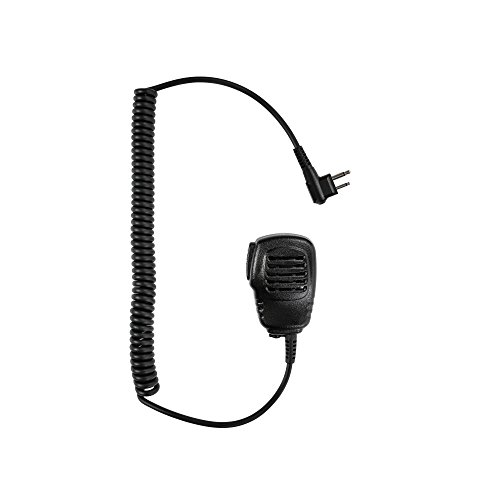 - Maxtop APM100-M1 Light Duty Shoulder Speaker Microphone for Motorola CP200 CP200D Bearcom BC95 BC120 BC130