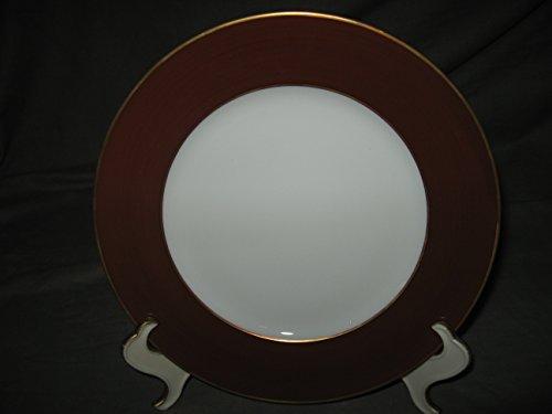 Limoges Diplomate Brown Dessert Plate