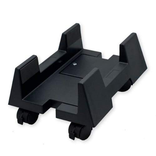 Value-5-Star - Cpu Stand for Atx Plastic Case, Adjustable Width, Black