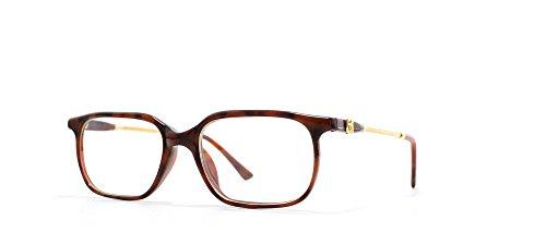 Emmanuelle Khanh Gold and Brown Authentic Men - Women Vintage Eyeglasses Frame (Khanh Emmanuelle)