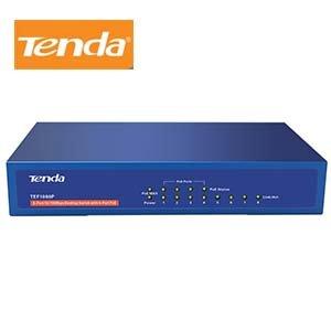 Tenda 8-Port Fast Ethernet PoE+ 58W Desktop Switch w/4-PoE+