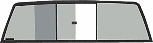 C.R. LAURENCE TRV935S CRL Tri-Vent Three Panel Slider with Solar Glass for 1987-1996 Mitsubishi Standard and Macro Cabs