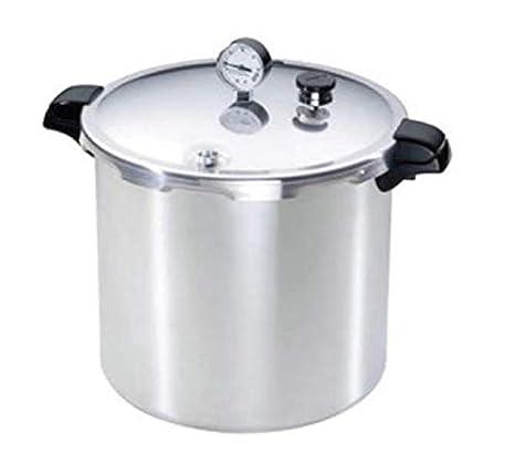 Amazon.com: Presto 16 qt. Llave a presión de aluminio ...