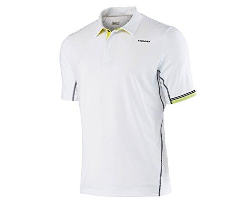 Adidas torso-ropa de alto rendimiento Polo de manga corta para hombre Blanco blanco Talla:medium Blanco - blanco
