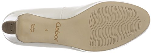 Fashion Gabor Mujer Shoes Off Gabor Zapatos absatz para de Blanco Tacón white qE1OERwrx