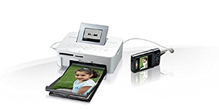 300x300 dpi Bianco Canon Selphy CP1000 Stampante Fotografica Compatta a Sublimazione