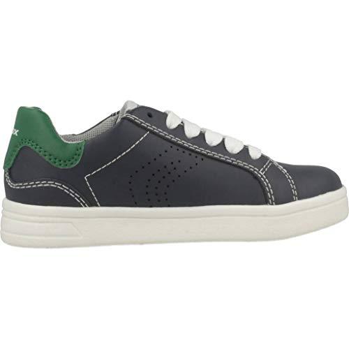 Geox blu c4248 Boys J C basse Sneakers Djrock raYUrqwxB