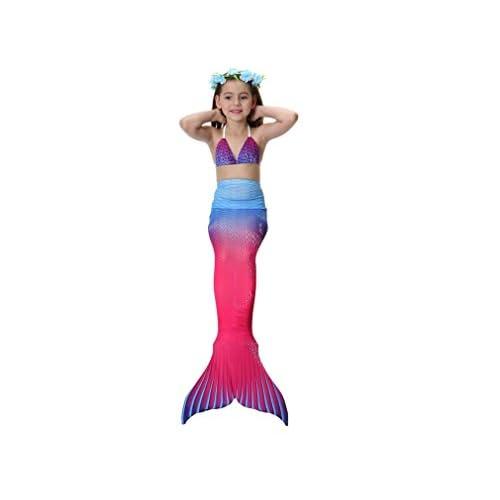 1dee1a96d 50% de descuento LUCKY-U Chicas Traje de baño Sirena Cola Trajes de baño