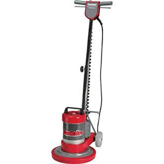 Sanitaire SC6001B Commercial Upright Rotary Floor Cleaner Machine with 0.5 HP Motor, 12  Brush Size