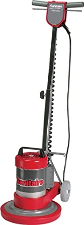 """Sanitaire SC6001B Commercial Upright Rotary Floor Cleaner Machine with 0.5 HP Motor, 12"""" Brush Size"""