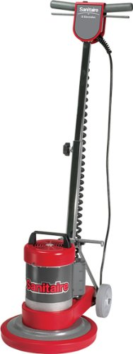 Sanitaire SC6001B Commercial Upright Rotary Floor Cleaner Machine with 0.5 HP Motor, 12