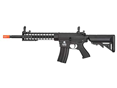 Lancer Tactical LT-12 M4 Gen 2 EVO AEG Airsoft Rifle (KeyMod Black with High FPS) ()